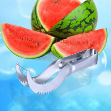 Watermelon Corer Server Slicer Melon Cutter Splitter Stainless Steel Tool 6317