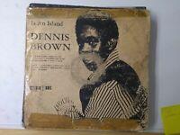 Dennis Brown-No Man Is An Island Vinyl LP 1970 UK COPY