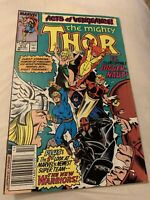 THOR THE MIGHTY #412 VOL 1 MARVEL NEW WARRIORS ACTS OF VENGEANCE DECEMBER 1989