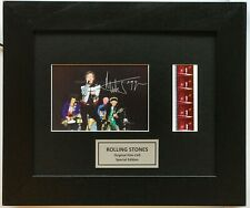 More details for mick jagger rolling stones signed repro print v2 original filmcell memorabilia