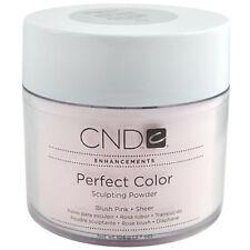 Cnd Nail Enhancements Perfect Color Sculpting Powder Blush Pink Sheer 3.7oz 104g