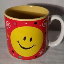 Flowers Inc, Balloons Smiley Face Red Ceramic Mug, #607200, Korea