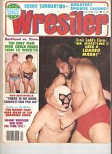 Wrestling 1979 Magazine wrestler WWF NWA AWA Race Ox Funk Flair Revue Backlund