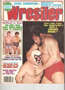 Exc mr Wrestling 2 1979 Magazine wrestler WWF NWA AWA Race inside Funk  Backlund