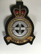 2625 Sqn R.Aux.A.F Regiment. County of Cornwall. Squadron Crest Patch. RAF Regt.