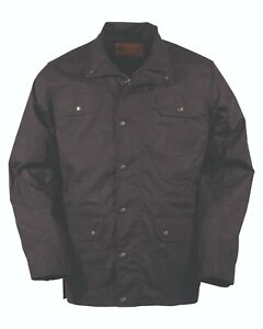 Outback Trading Co. Waxed Cotton Jacket- Black Large ( 30306 )