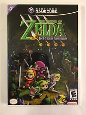 The Legend of Zelda Four Swords - Gamecube - Replacement Case - No Game