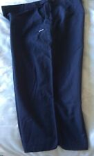 LADIES ADIDAS CROPPED TROUSERS  ~  SIZE 20  ~   NAVY BLUE