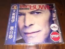 David Bowie 1993 Black Tie White Noise Taiwan LTD Blue OBI CD Sealed Blackstar