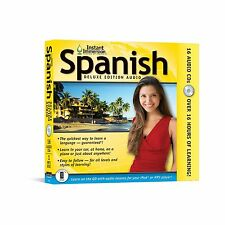 New 17 CD Learn to Speak Spanish Language  Beginner to Advanced + Transcripts