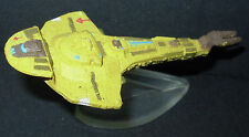 Star Trek Micro Machines CARDASSIAN GALOR WARSHIP with stand