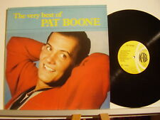 PAT BOONE disco LP 33 giri THE VERY BEST OF PAT BOONE Made in Italy