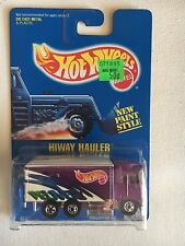 Hot Wheels Delivery Purple Hiway Hauler Blue Card no. 238 Highway