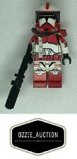 Lego Star Wars Clone Army Customs - CAC - Clone Shock Trooper Commander [7675]