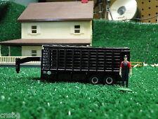 NEW! Ertl 1/64 gooseneck grain trailer with cover , no box