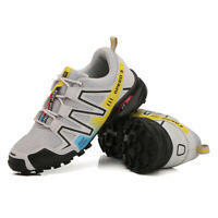 Outdoor Hiking Shoes Breathable Climbing Shoes Cleats Running Shoes Sneakers Men