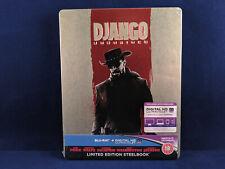 DJANGO UNCHAINED - Steelbook - Bluray - UK Exclusive - Foxx - Dicaprio - Waltz