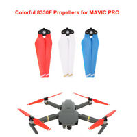 2 Pair CW CCW 8330F Quick Release Propellers Foldable Props for DJI Mavic Pro