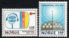 NORWAY MNH 1975 The 50th anniversary of Norwegian broadcasting