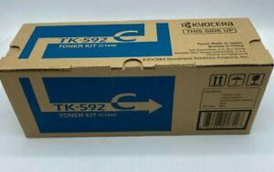 Kyocera TK-592C CYAN Original Toner Kit *NIB* (CT)