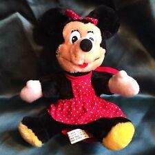 "Disneyland / Walt Disney World Minnie Mouse 8"" Plush Toy"