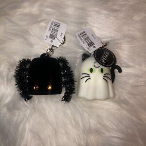 Bath & Body Works 2021 Halloween Ghost + Bat Keychain Holder