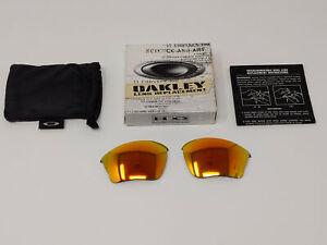 Oakley Half Jacket 1.0 XLJ 13-432 Fire Polarized Authentic Replacement Lenses