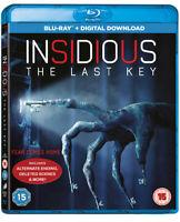 Insidious - The Last Key Blu-Ray (2018) Lin Shaye, Robitel (DIR) cert 15