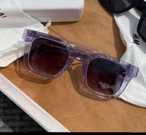 CHIMI X HM Light Purple RECTANGLE SUNGLASSES H&M  With Box Sold Out BNWT
