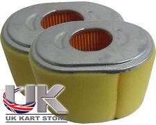 RICAMBIO Honda GX160 / GX200 Filtro dell' aria con schiuma x 2 UK KART Store