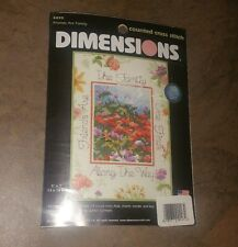 New Dimensions 6895 Friends Are Family Cross Stitch Kit