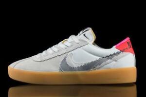 Nike SB Bruin React T Mens White Crimson Black Shoe Trainer All Sizes