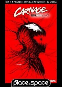 (WK12) CARNAGE: BLACK, WHITE AND BLOOD #1E - WEBHEAD VARIANT - PREORDER MAR 24TH