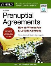 USED (GD) Prenuptial Agreements: How to Write a Fair & Lasting Contract, 4th Edi