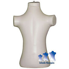 Inflatable Mannequin, Child Torso, Ivory