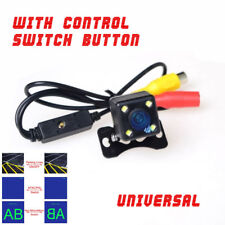 480TV 4LED Mini Auto Car Backup Camera Button Control Front/Rear NTSC/PAL Guide
