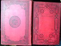 "LA SOEUR PERDUE:MAYNE-REID:o.J, um 1860/68-Illustriert. ""2 Bde.in einem."