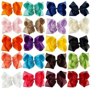 """10"""" Extra Large Big Bow Alligator Clip Hair Clips Pin"""