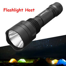 Astrolux C8 Aluminum LED Flashlight Shell Waterproof Camping Hiking Torch Lights