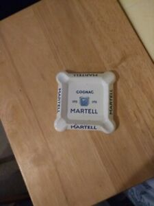 MARTELL COGNAC 1715 VINTAGE FRENCH ASHTRAY