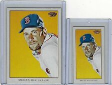 2009 Topps 206 #165 John Smoltz Lot of 2 incl. Piedmont Mini NM/MT  (Braves) !
