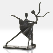 Cast Iron Ballet Dancers Sculpture