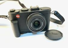 Leica X2 #4323040 with Hand Grip #18712 & New Case #18755