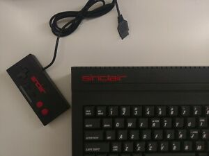 Game Pad Joystick For ZX Spectrum Black +2A/B/+3 Plugs straight in!