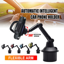 Car Mount Adjustable Gooseneck Cup Holder Cradle Universal For iphone Cell Phone