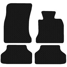 BMW 3 Series E46 1998-07 4dr Saloon Black Floor Rubber Tailored Car Mat 4pc Set
