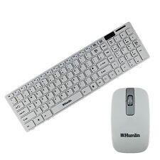 WIRELESS KEYBOARD AND MOUSE COMBO DESKTOP PC MAC TV HUMLIN BRAND MODEL MKB370