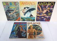 84303 ANTARES serie completa 1/5 - Edigamma 1976 - Collana ALFA