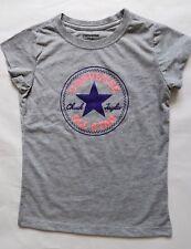 Converse Girl`s Top T-Shirt Grey Size 4-5 yrs