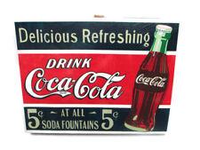 Coca-Cola Canvas Wall Art - Retro Drink Coca-Cola  *NEW*